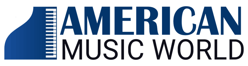 Logo American Music World in Chicago