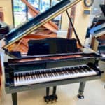 Yamaha C1 Grand Piano Open